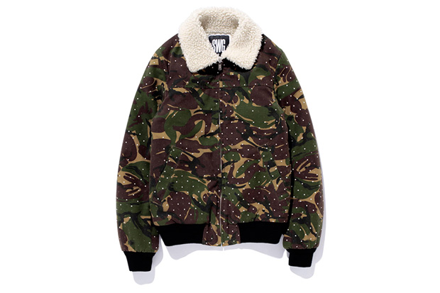 swagger DOT CAMO FLIGHT JACKET