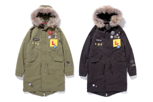 swagger x Alpha Industries M-51 Jacket