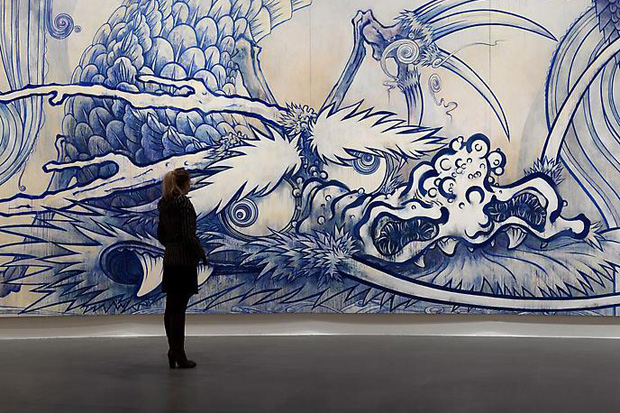 Takashi Murakami First Solo Exhibition @ Gagosian Gallery