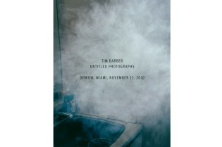 "Tim Barber ""Untitled Photographs"" Exhibition"