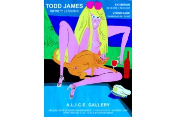 """Todd James """"Infinity Lessons"""" Exhibition"""