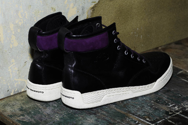 Y-3 Hayworth Hi Black/Purple