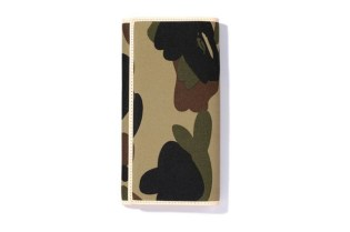 A Bathing Ape 1st Camo Leather Accessories Collection