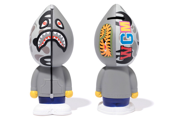 A Bathing Ape Shark Coin Bank