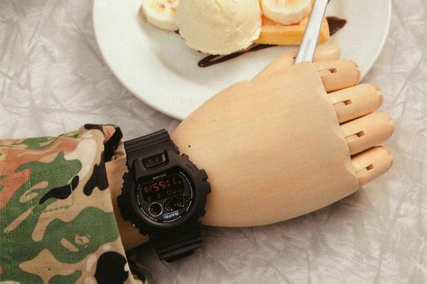 A Bathing Ape x Casio G-Shock DW-6900 Preview
