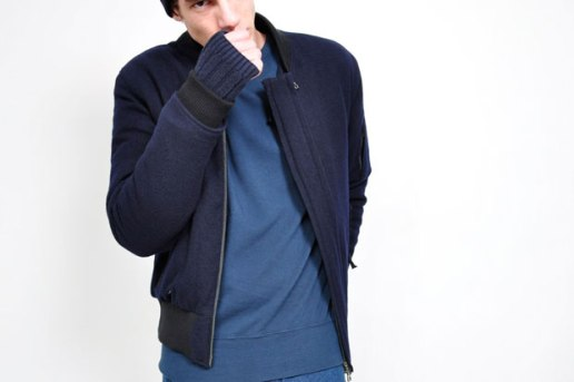 Acne Felix Wool Bomber Jacket