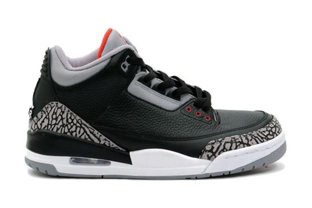 Air Jordan III Black/Cement 2011 Retro Confirmed