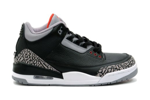 Air Jordan III Black/Cement 2011 Retro Confirmed