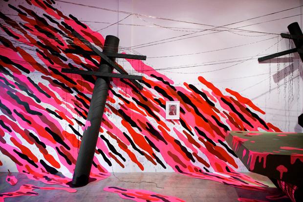 "Andrew Schoultz ""Melt Down"" Exhibition @ Project Space"