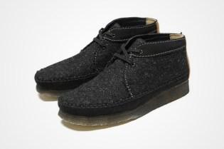 atmos x Clarks Harris Tweed Weaver Boots