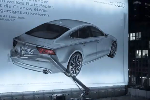 "Audi A7 ""Spray"" Video"