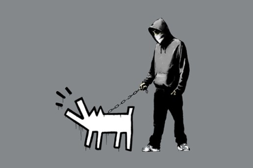 "Banksy ""Weapon of Choice"" Print"