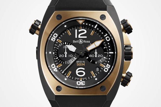 """Bell & Ross """"Pink Gold"""" Collection"""