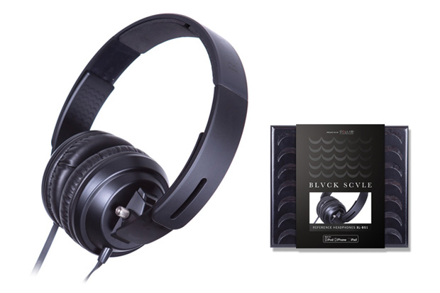 Black Scale x Collab Electronics Headphones