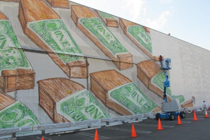 Blu Los Angeles Mural
