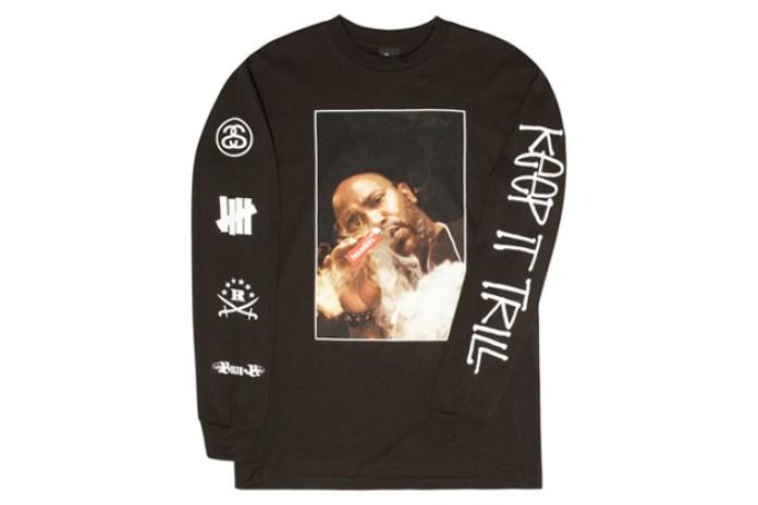 """Bun B x UNDFTD x Ransom x Stussy """"KEEP IT TRILL"""" T-shirt"""