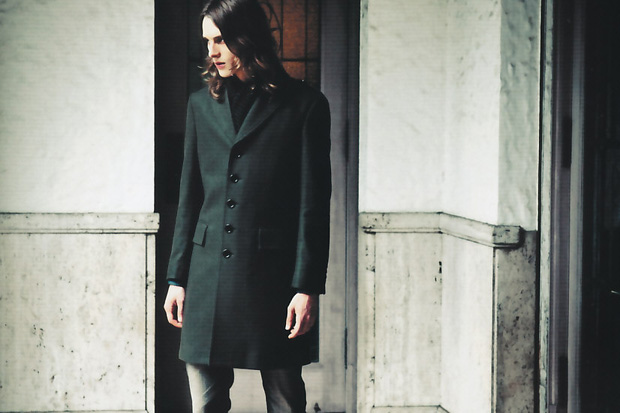 "Burberry Black Label ""The Simple Military"" Editorial"