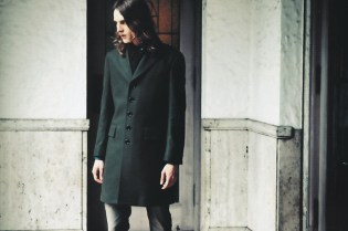 """Burberry Black Label """"The Simple Military"""" Editorial"""