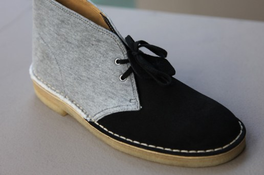 Clarks Originals x Loopwheeler Collection