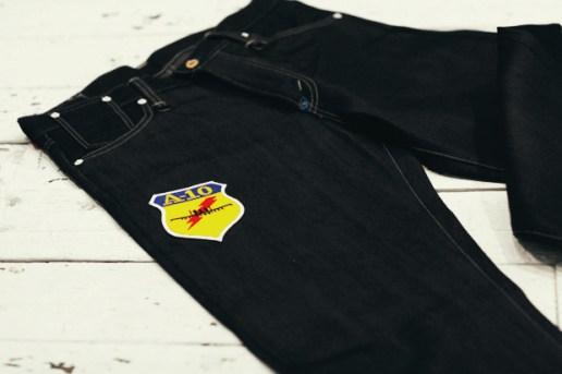 CLOT x Levi's Nylon Dynasty 502 Rigid Jeans