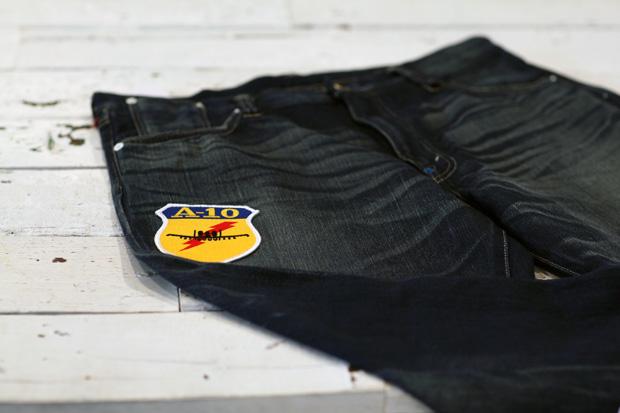 CLOT x Levi's Nylon Dynasty 502 Washed Jeans