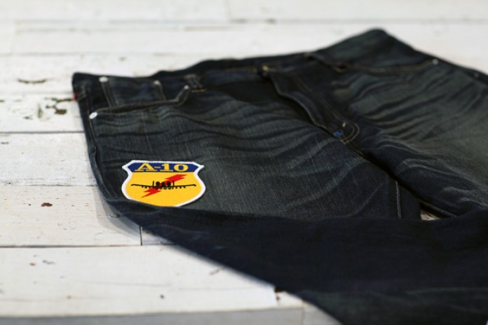 CLOT x Levi's Nylon Dynasty 502 Washed Jeans