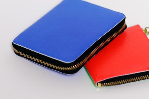 "COMME des GARCONS Merry ""Happy Crazy Colour"" Wallets"