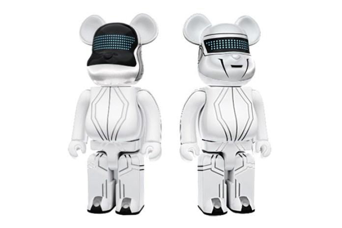 Daft Punk x Medicom Toy x TRON: Legacy 400% Bearbricks