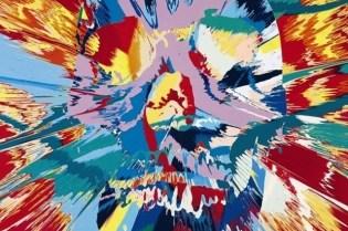 "Damien Hirst ""Forgotten Promises"" Exhibition @ Gagosian Gallery"