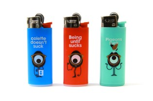 Darcel x BIC x colette Lighters