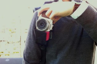 "Diagnl x TOKYO CULTUART by BEAMS x PHaT PHOTO ""Cowboy Holster"" Camera Holster"