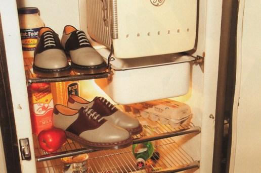 Dr. Martens x URSUS BAPE Saddle Shoes