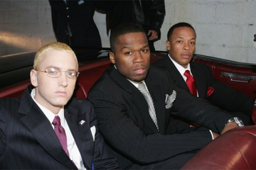 Eminem featuring Jay-Z, Dr. Dre, 50 Cent, Cashis, Stat Quo – Syllables