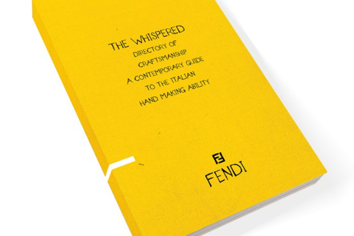 Fendi for The Whispered Directory of Craftsmanship: A Contemporary Guide to the Italian Hand Making Ability