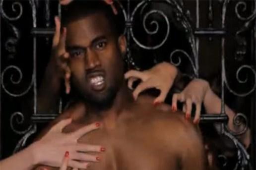 "Kanye West featuring Rick Ross, Jay-Z, Nicki Minaj & Bon Iver ""Monster"" Video"