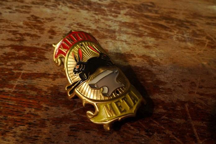 "Kinfolk ""Black Rabbit"" Badge 2011"