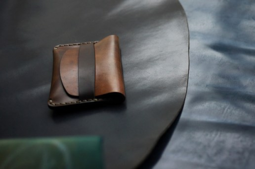 Makr Flap Slim Cordovan Wallet