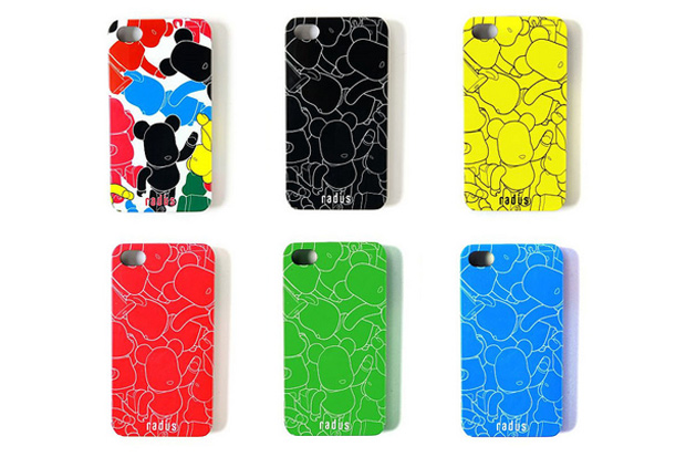 Medicom Toy x Radius iPhone 4 Cases