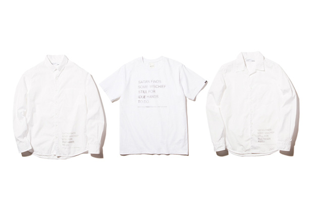 "NEIGHBORHOOD x fragment design ""White"" Collection"