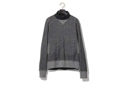 NEXUSVII x Loopwheeler Turtle Neck Sweater