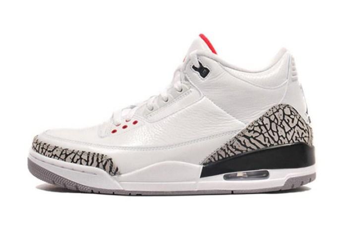 Air Jordan 3 White/Cement Grey