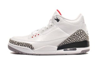 Air Jordan 3 White/Cement Grey