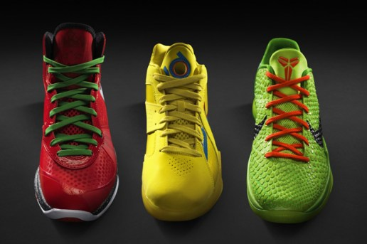 Nike Basketball 2010 Christmas Day Footwear