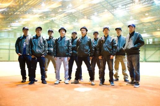 Nike Destroyer Satin Jacket featuring TOKYO SOFT PUNKS