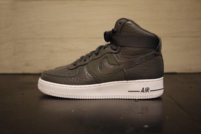 "Nike Sportswear Air Force 1 High Premium ""Wool Snake"""