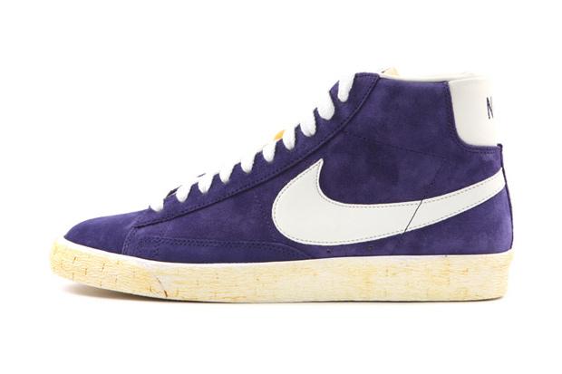 Nike Sportswear Blazer High Suede VNTG