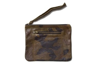 Overthrown Junta by Trilly & Truly Leather Pouch