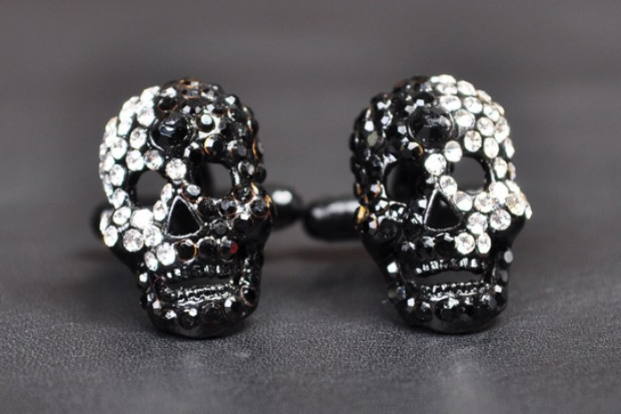 Paul Smith Skull Cufflinks