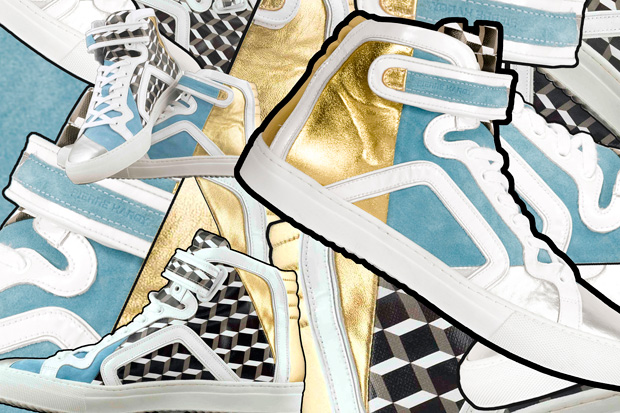 Pierre Hardy Blockorama Limited Edition Sneakers