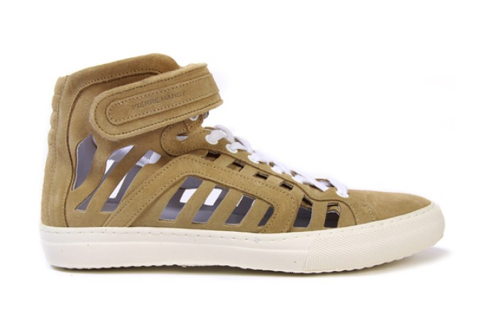 Pierre Hardy Suede Ankle Sneakers